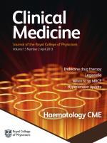 Clinical Medicine: 13 (2)