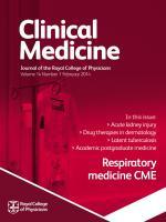 Clinical Medicine: 14 (1)