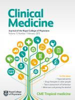 Clinical Medicine: 15 (1)