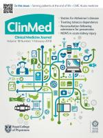Clinical Medicine: 18 (1)