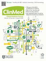 Clinical Medicine: 18 (4)