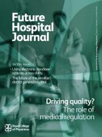 Future Hospital Journal: 1 (2)