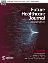 Future Healthcare Journal: 6 (3)