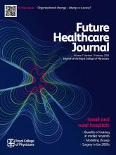 Future Healthcare Journal: 7 (1)