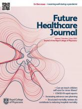 Future Healthcare Journal: 7 (2)
